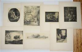 30+ Old Master facsimile reproduction prints