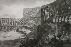 Francesco Piranesi Etching