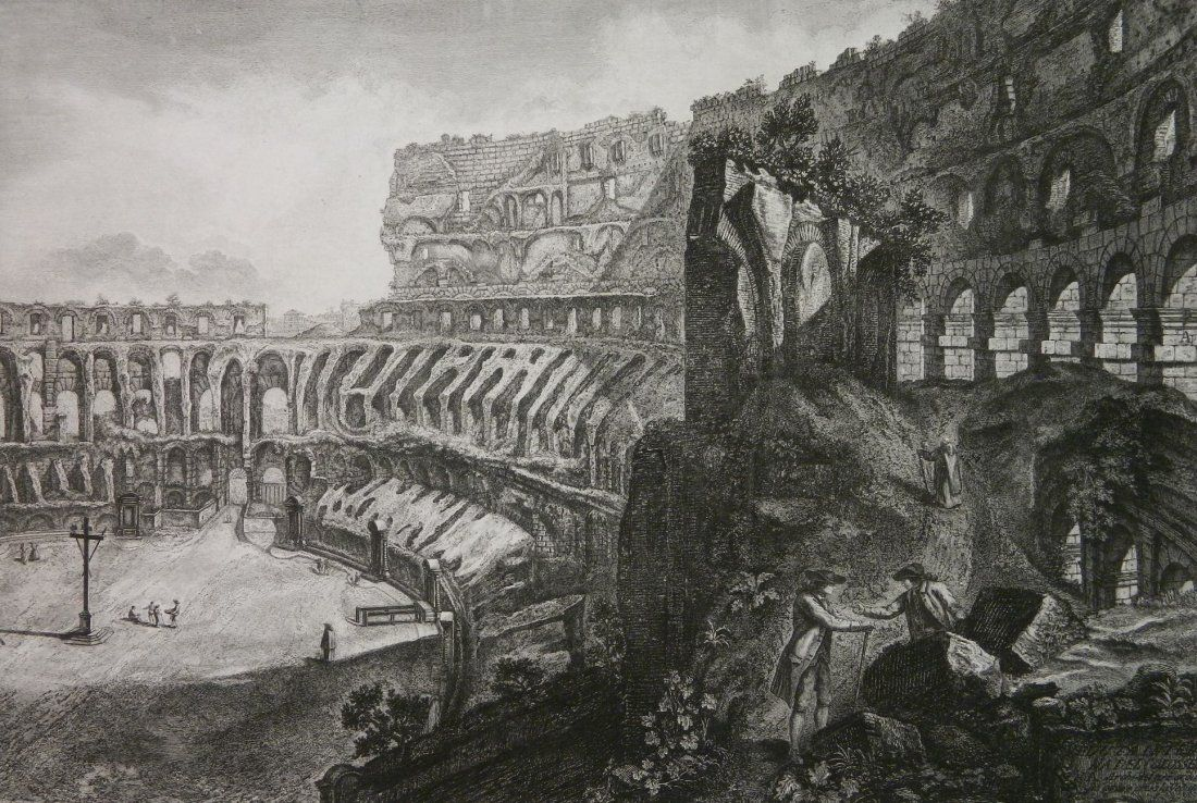 Francesco Piranesi etching
