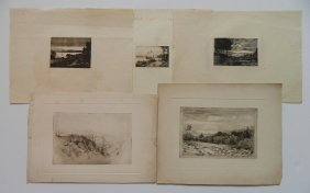 Frank Andrew 45 Etchings