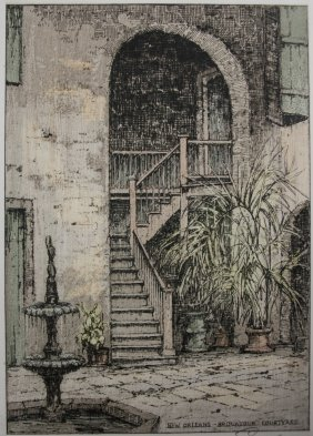 Josef Eidenberger Etching