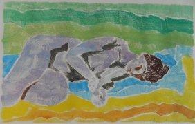 Milton Gershgoren Color Monotype