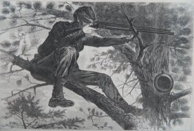 After Winslow Homer Wood Engraving