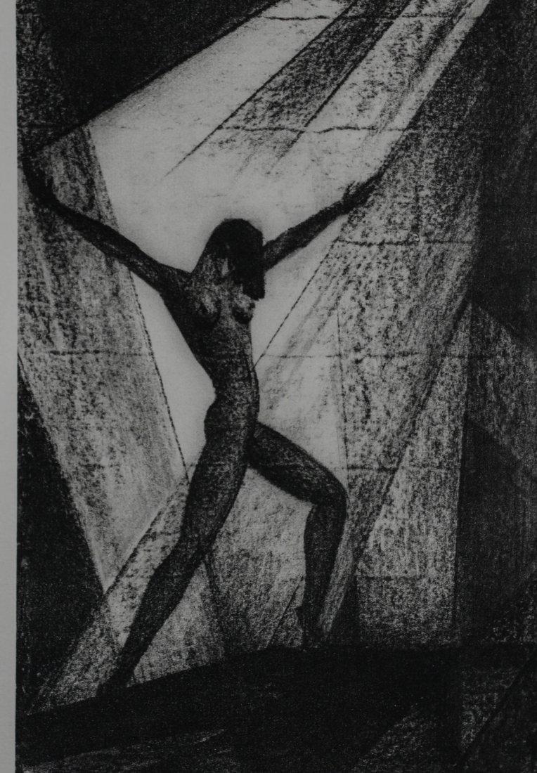 Boris Lovet-Lorski lithograph