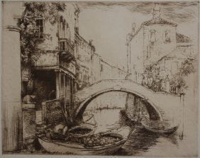 Donald Shaw Maclaghlin Etching And Drypoint