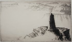 Gerry Peirce Etching And Drypoint