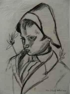 Elsa Schmid Charcoal