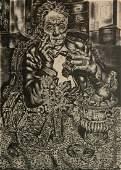 Ivan Le Lorraine Albright lithograph