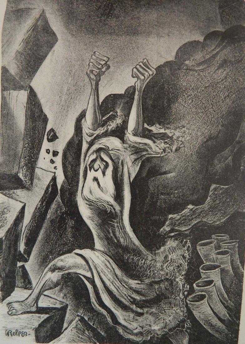 William Gropper lithograph