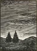 Julius J Lankes wood engraving