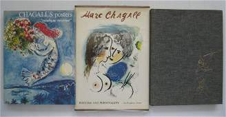 3 Books on Marc Chagall