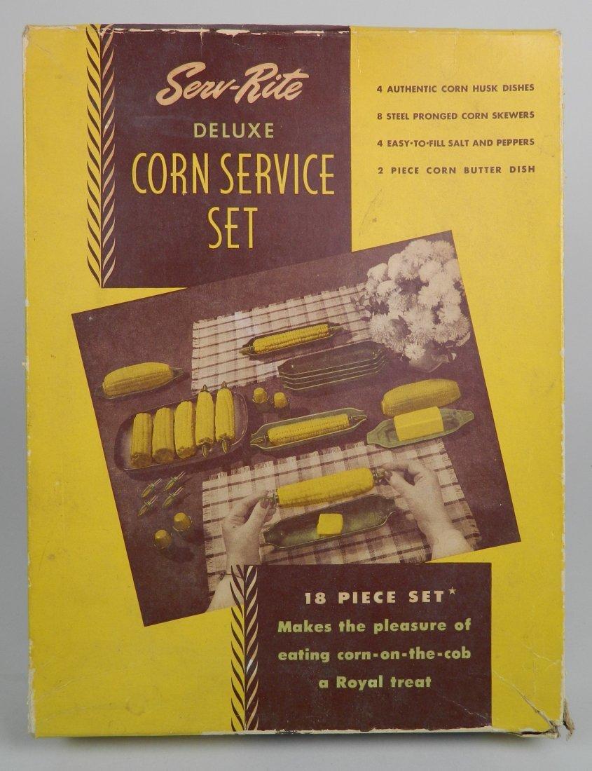 Ser-Rite Deluxe Corn Service SEt