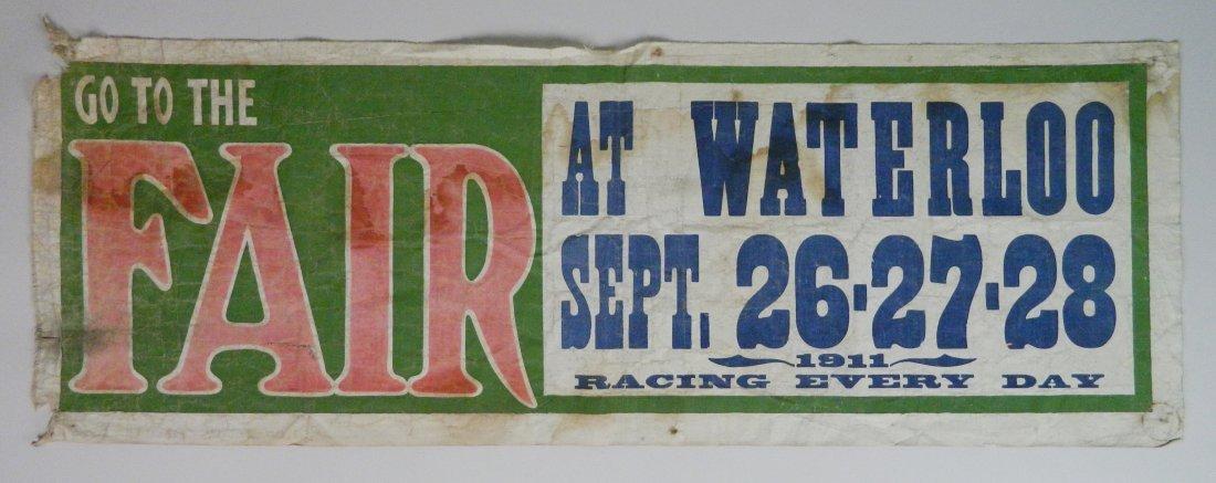 Vintage Fair Banner