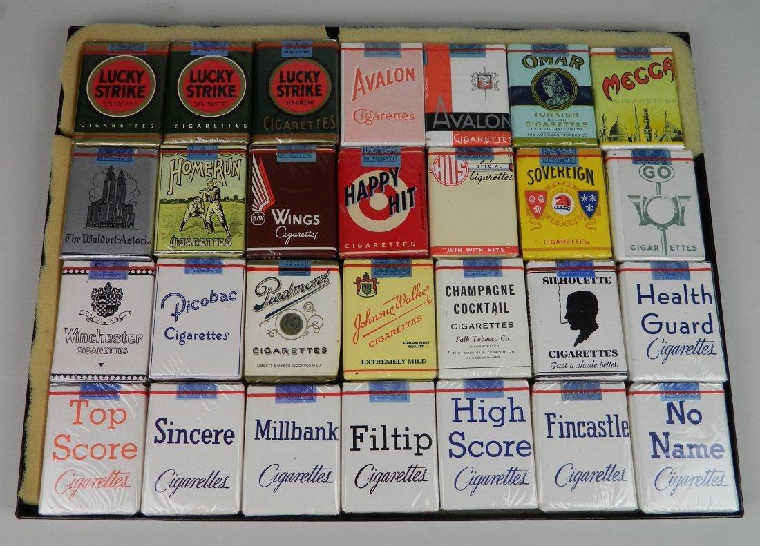 28 Vintage cigarette packs