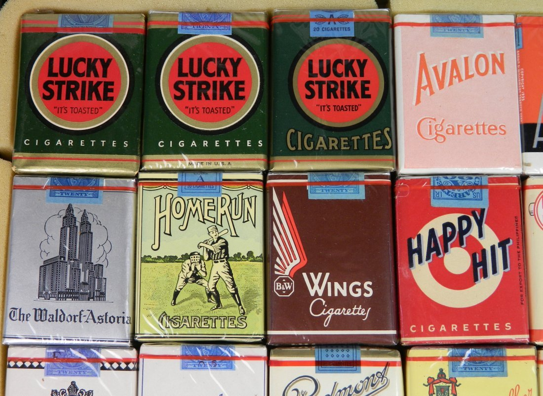 28 Vintage cigarette packs - 2