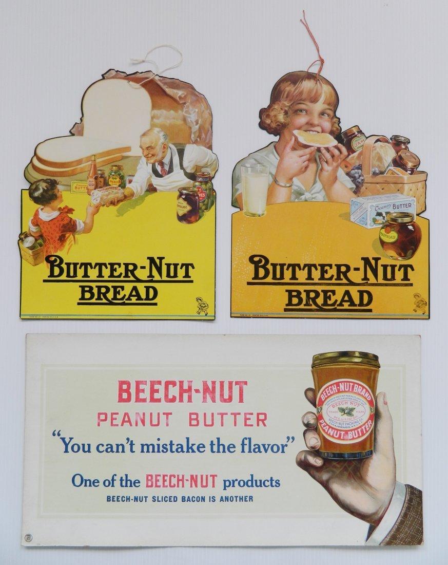 3 Beech-Nut cardboard signs