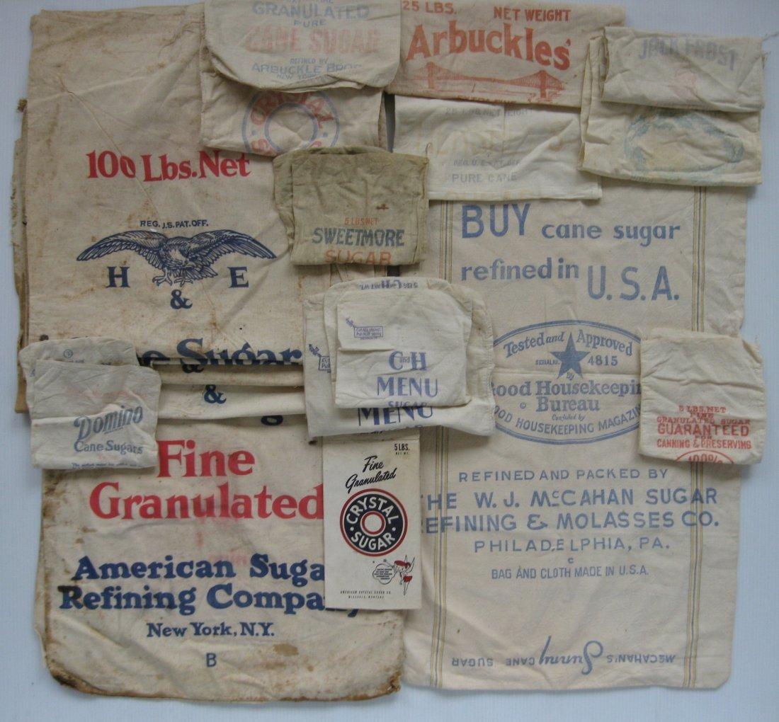 15+ Sugar linen bags