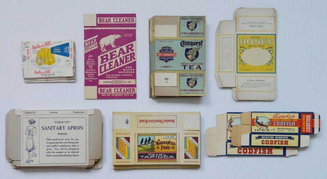 43 Vintage unused boxes
