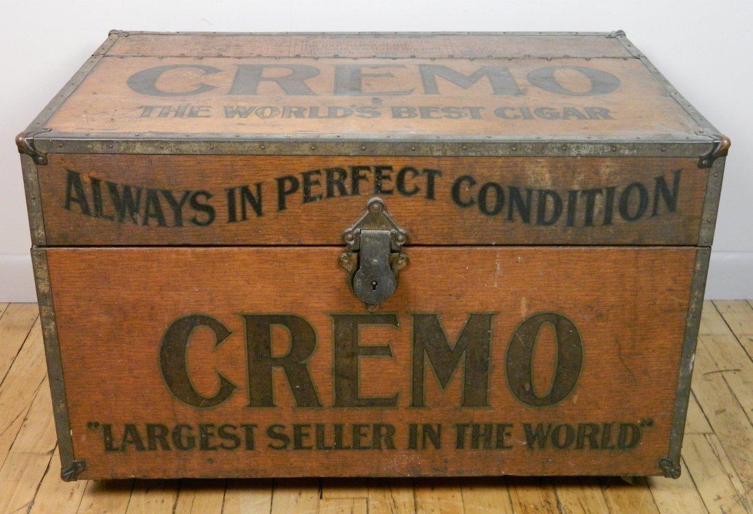 Vintage Cremo Cigar Humidor / Trunk