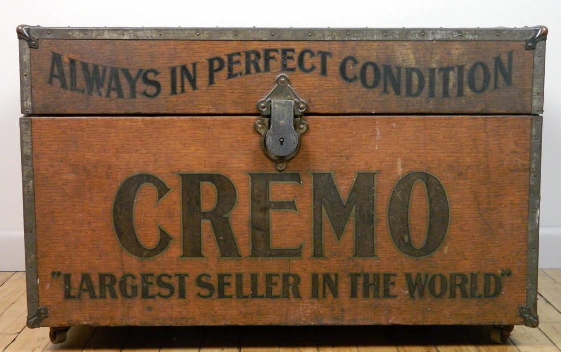 Vintage Cremo Cigar Humidor / Trunk - 2