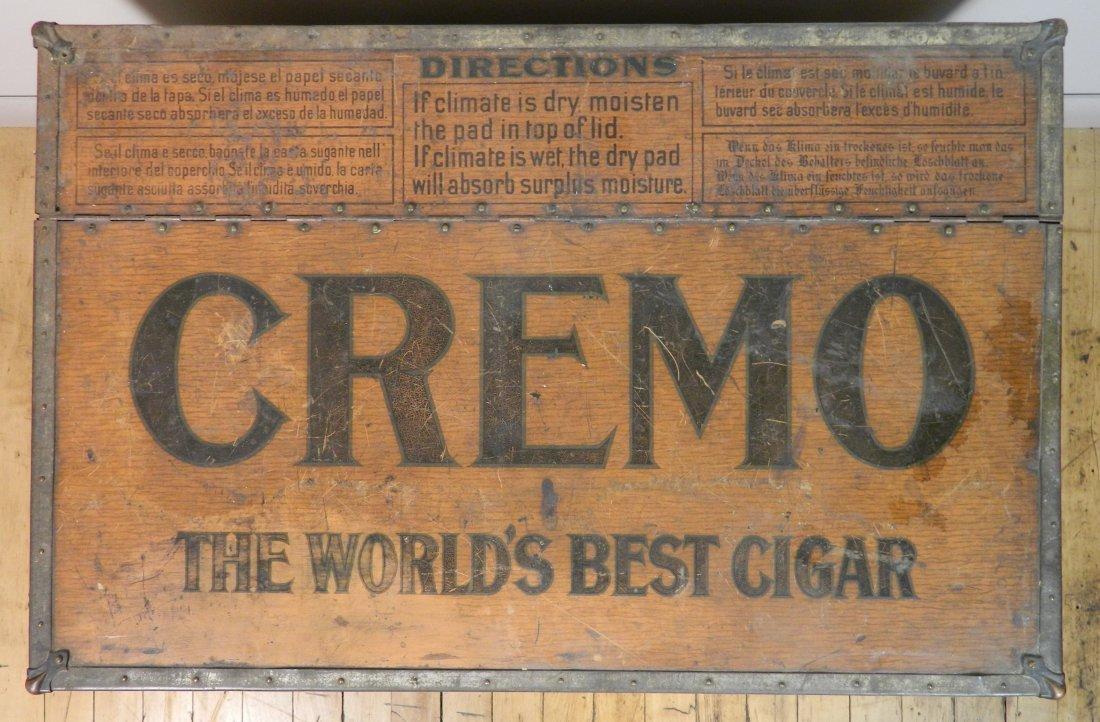 Vintage Cremo Cigar Humidor / Trunk - 3