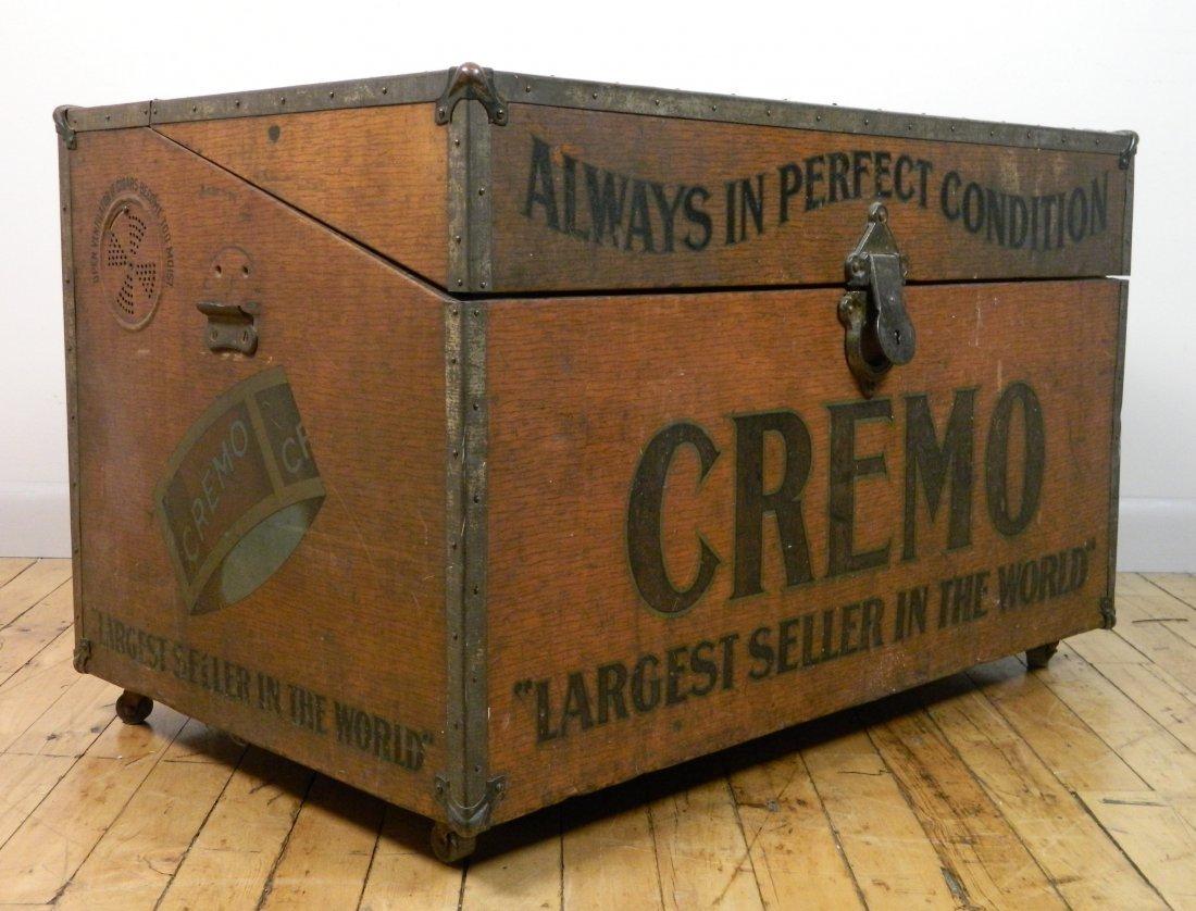 Vintage Cremo Cigar Humidor / Trunk - 4