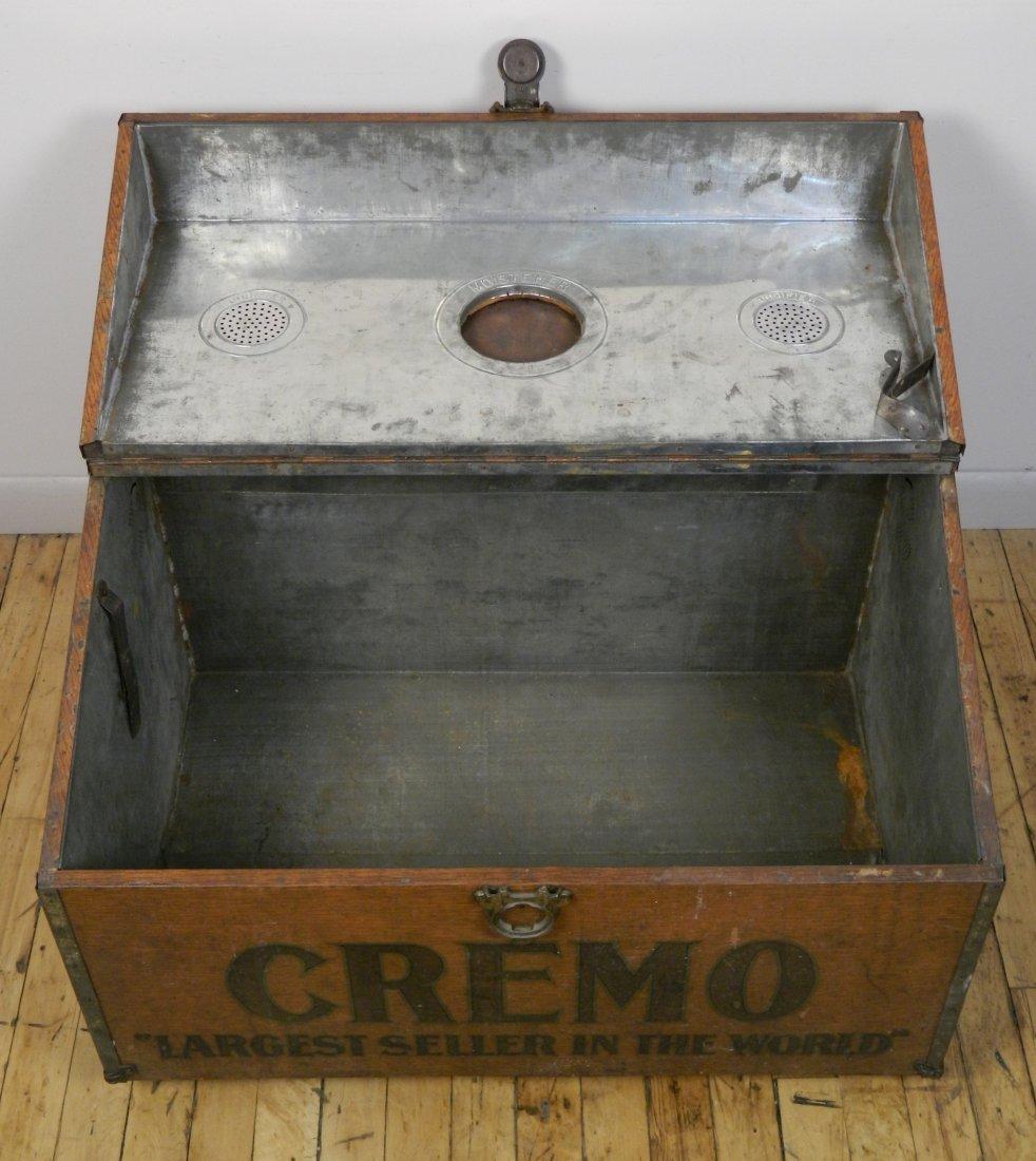 Vintage Cremo Cigar Humidor / Trunk - 7