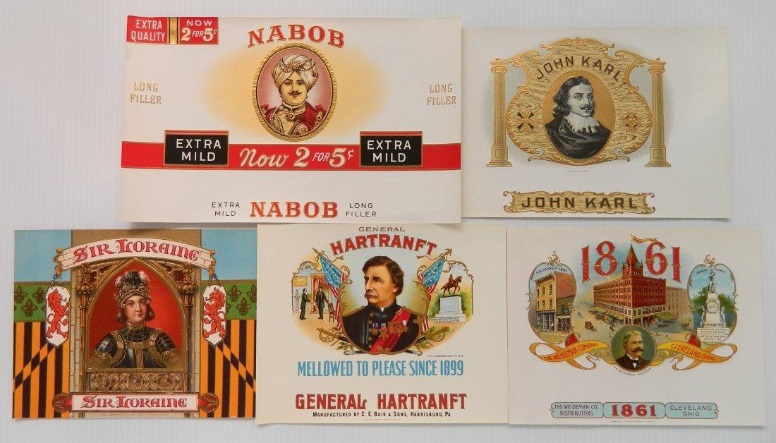 25 Cigar box labels - 6