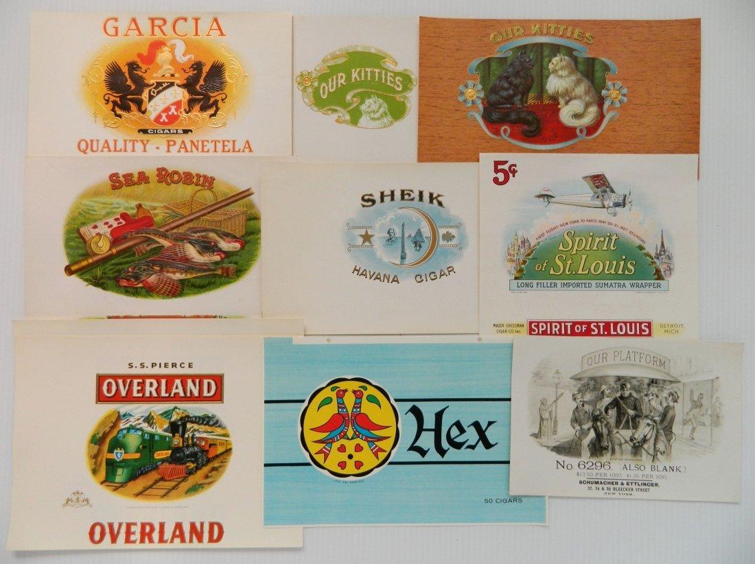 25 Cigar box labels - 7