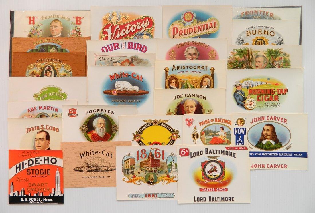 25 Cigar box labels