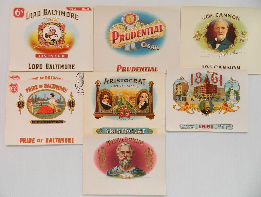 25 Cigar box labels - 2