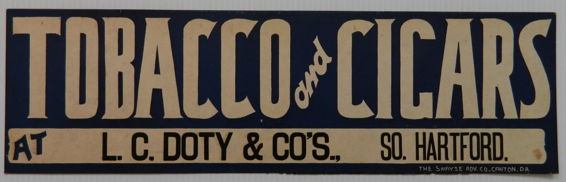5 L. C. Dots & Co. cardboard signs - 4