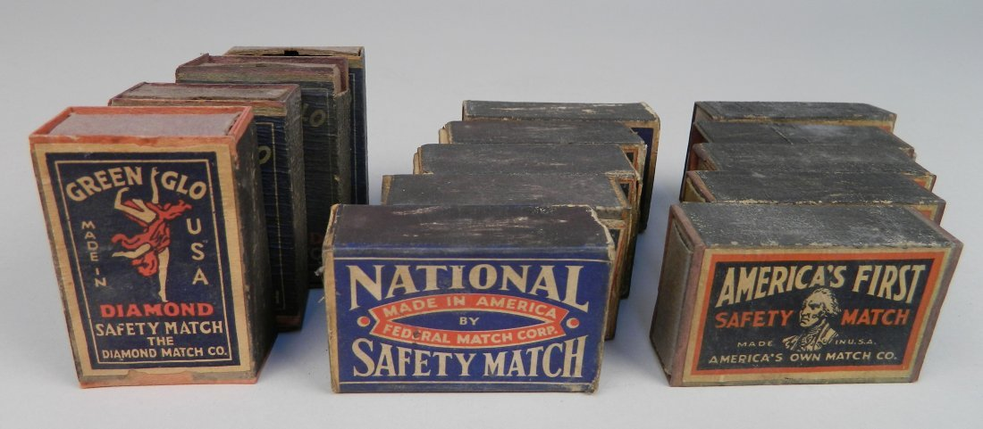 40 Vintage boxes of matches - 3