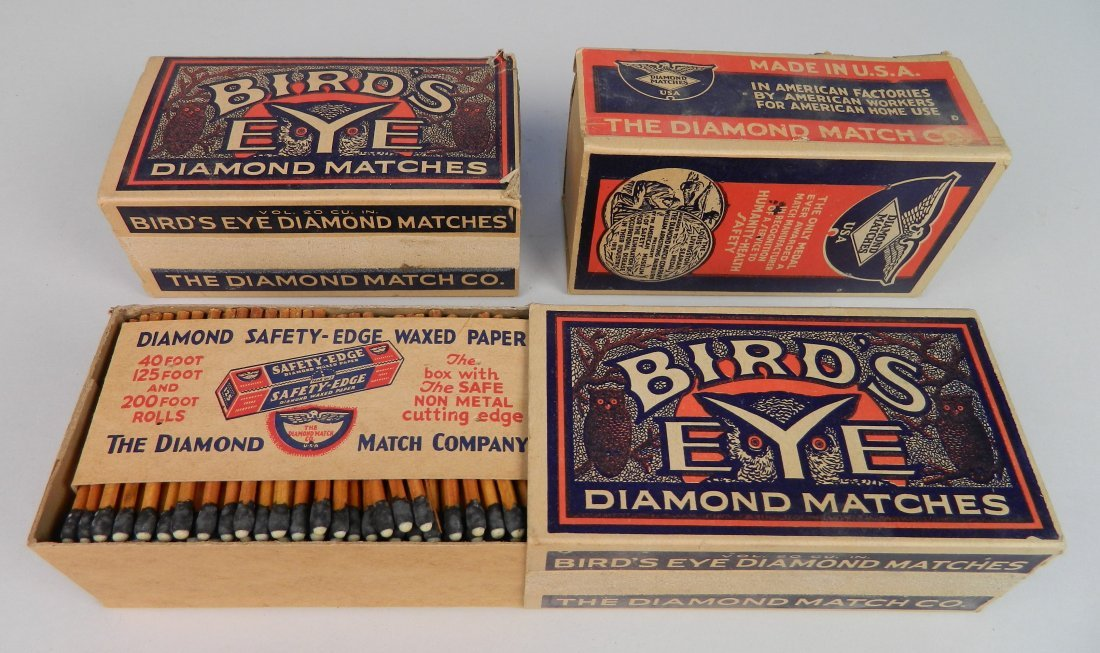 40 Vintage boxes of matches - 5