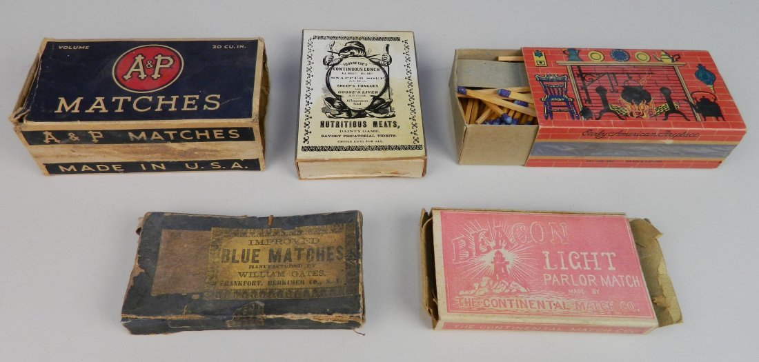 40 Vintage boxes of matches - 6