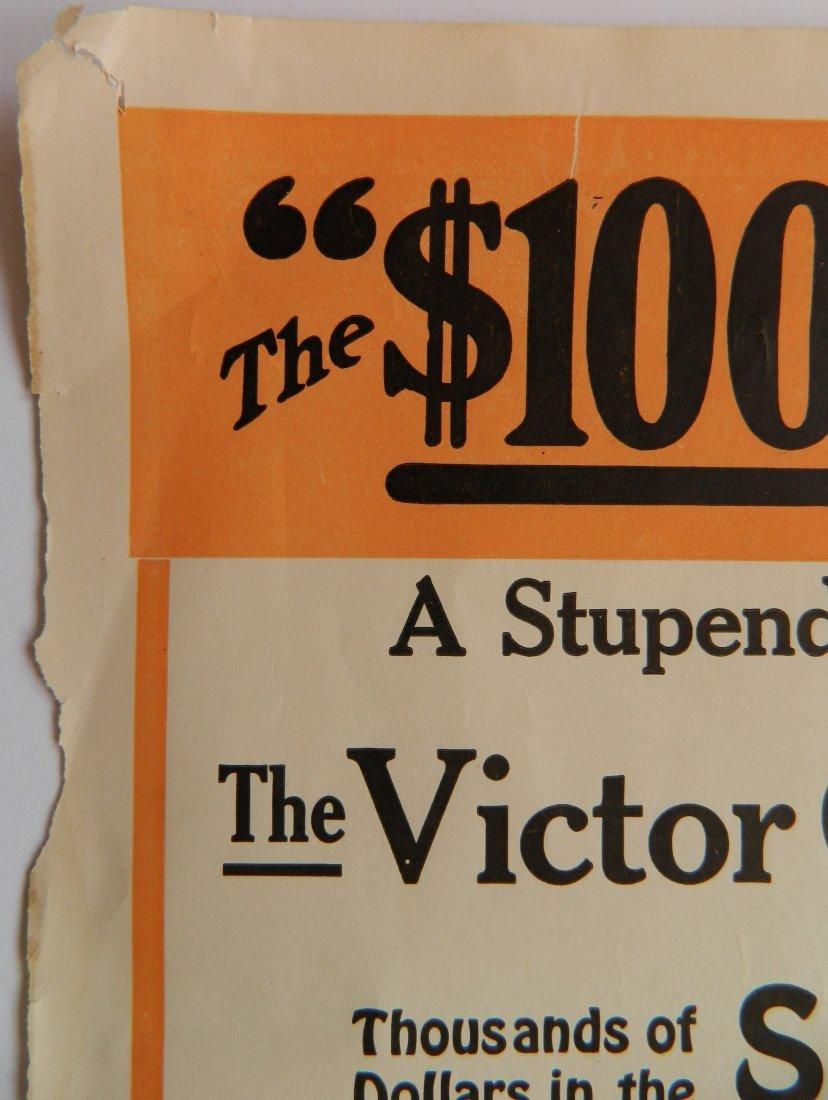 Victor Collar Button paper advertisement - 2