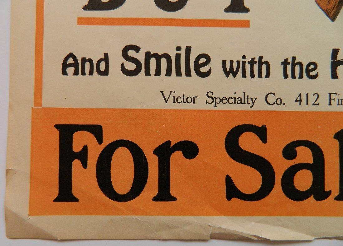 Victor Collar Button paper advertisement - 3