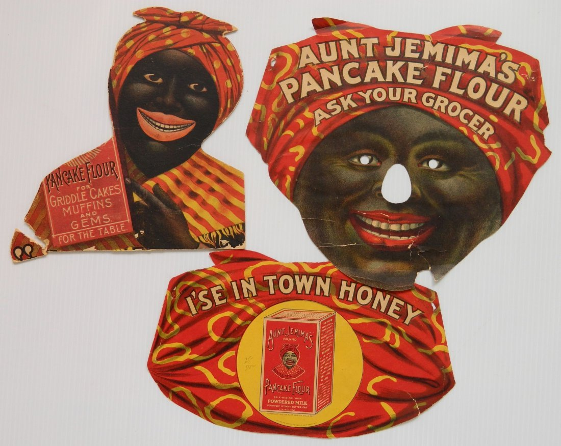 3 'Aunt Jemima' items