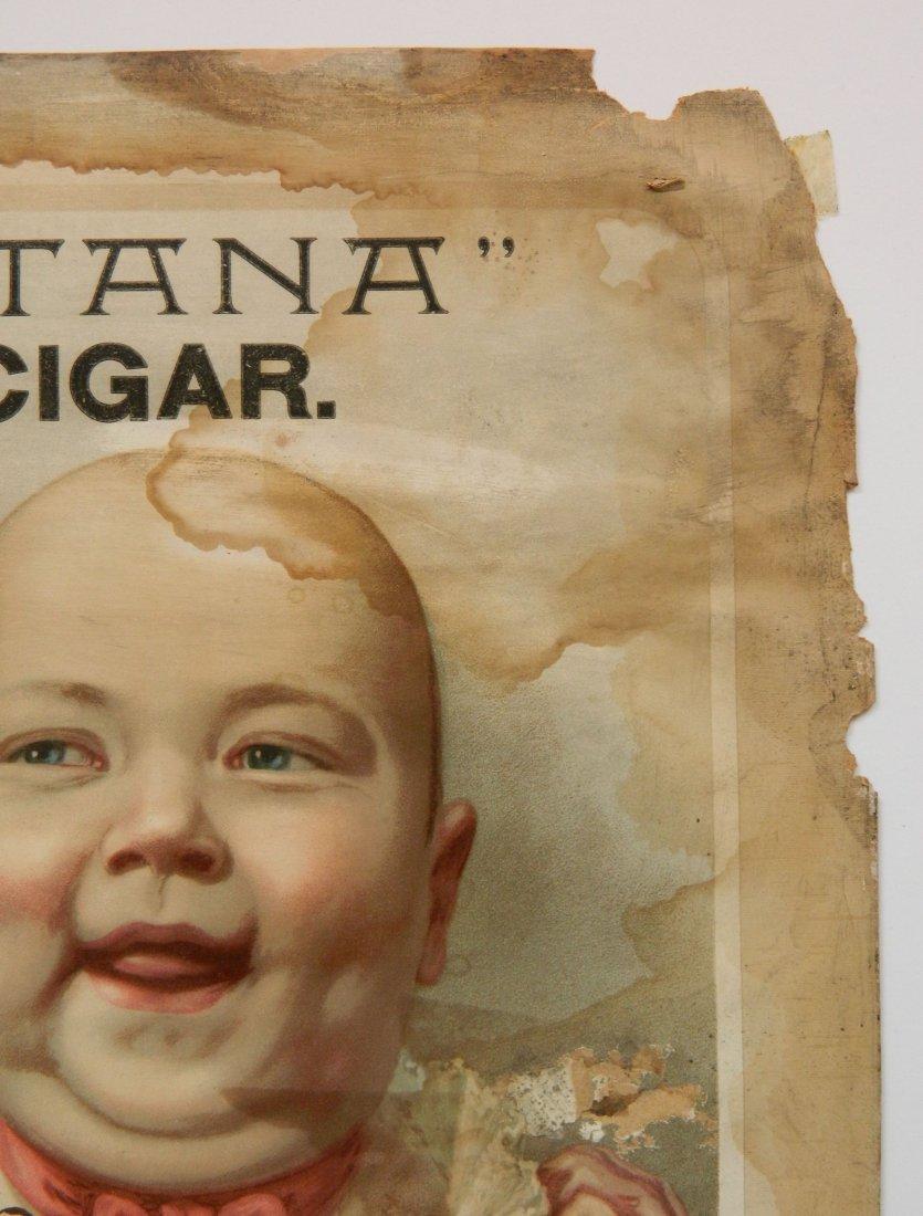 Rigby's 'Maritaa' Cigar advertisement sign - 2