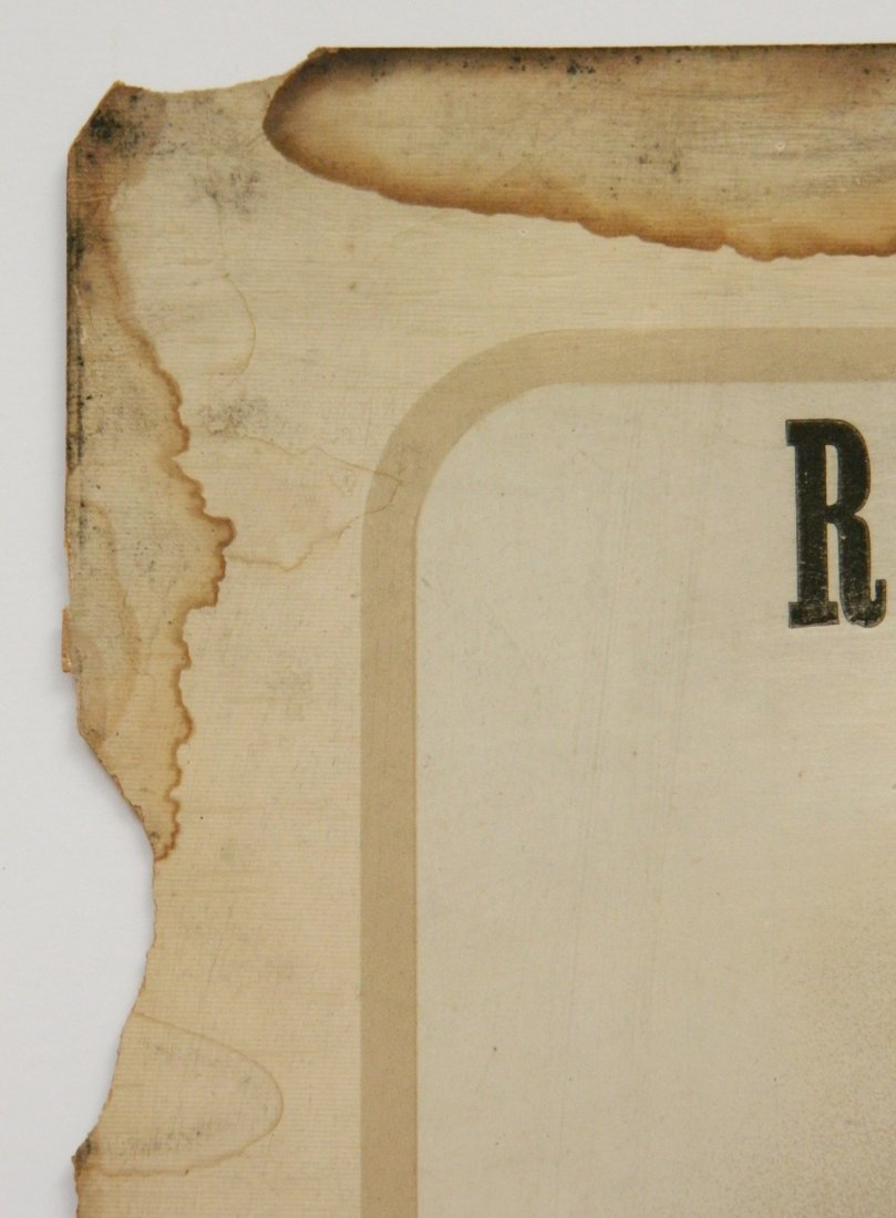 Rigby's 'Maritaa' Cigar advertisement sign - 5
