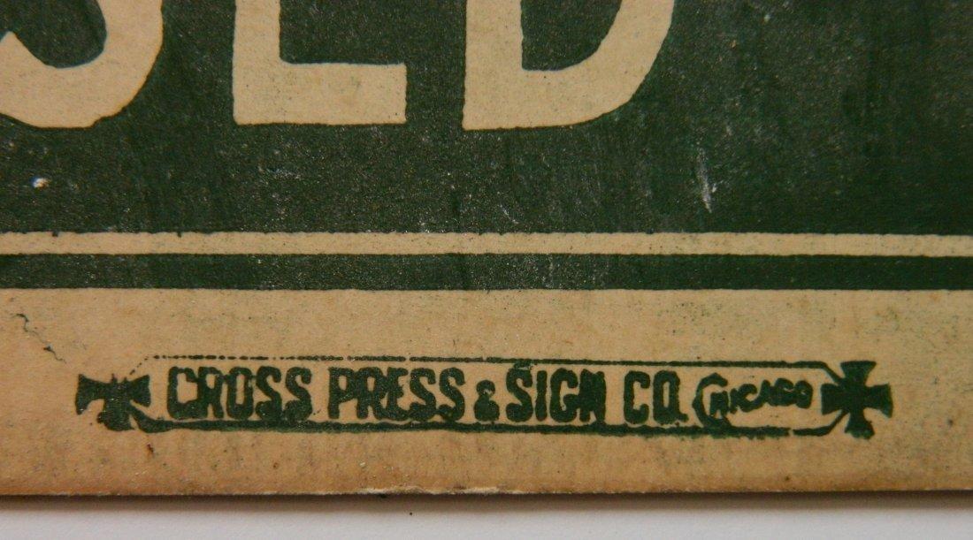 Fairies Starch advertisement cardboard sign - 3