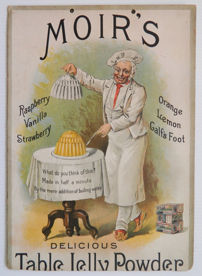 2 Moir's Table Jelly Powder advertisements - 2