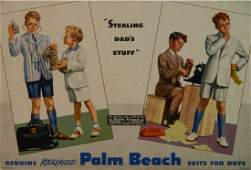 Koolerized Palm Beach Suits for Boys display sign