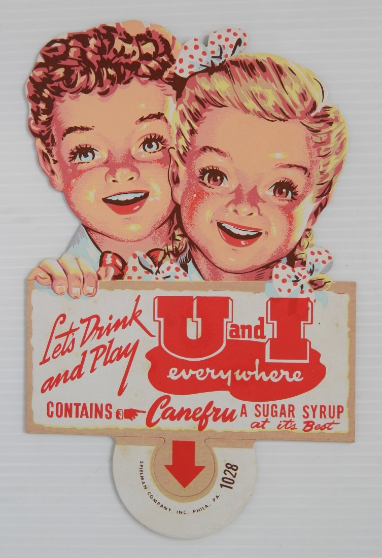 2 U & I Drink advertisement signs - 8