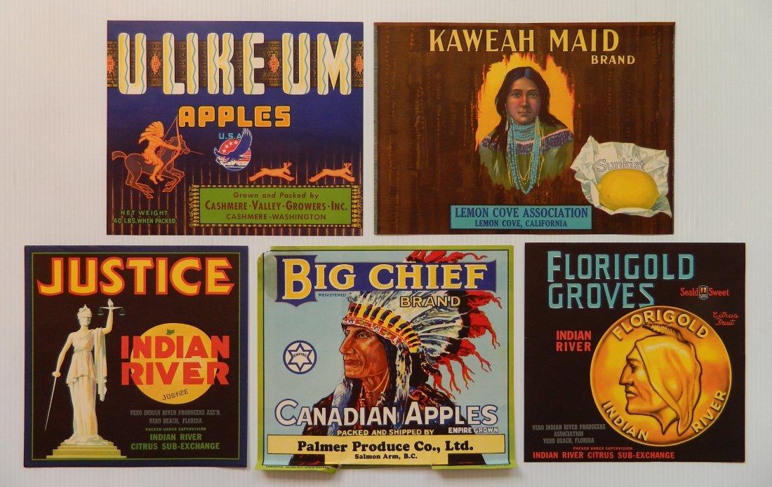 15 Fruit crate labels - 3
