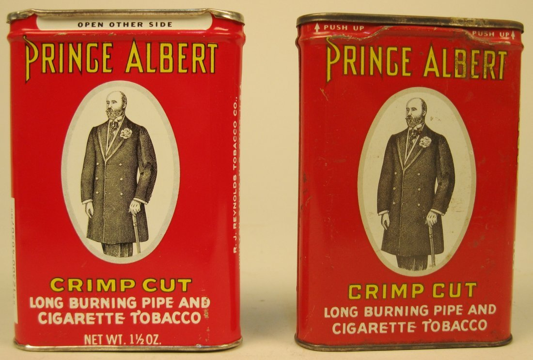 6 Tin tobacco containers - 4