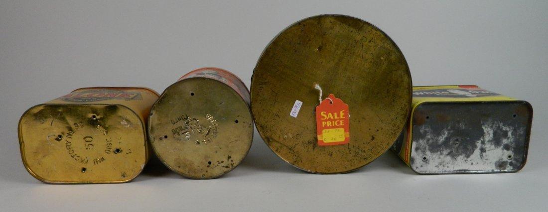 4 Vintage tobacco tins - 2