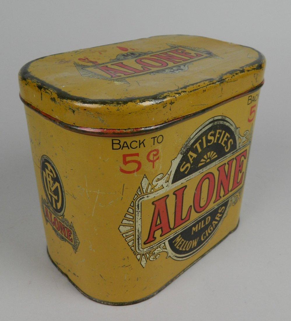 4 Vintage tobacco tins - 3