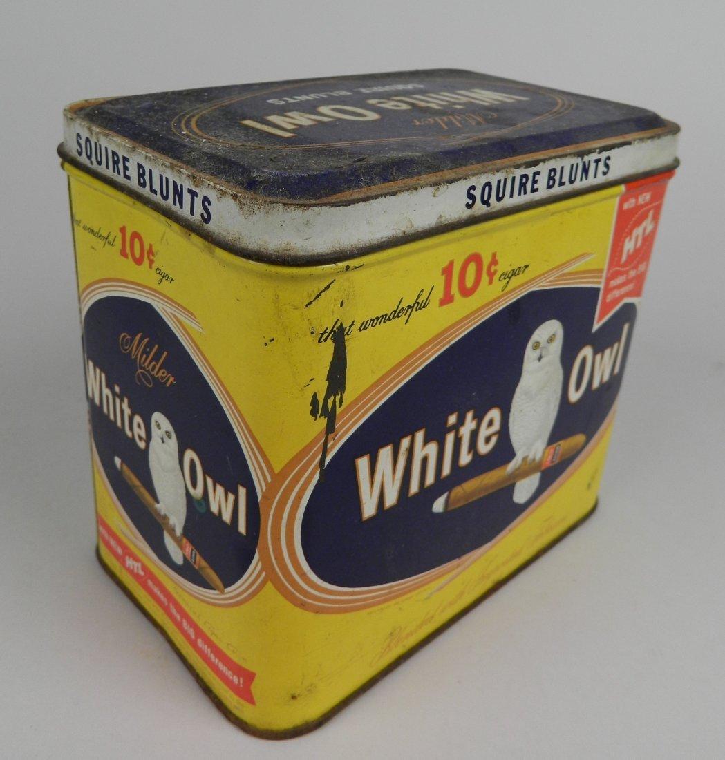 4 Vintage tobacco tins - 4