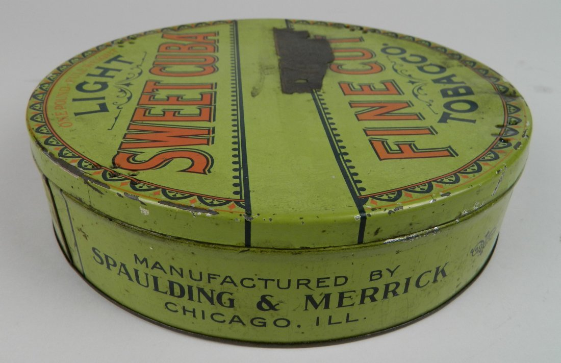 4 Vintage tobacco tins - 5